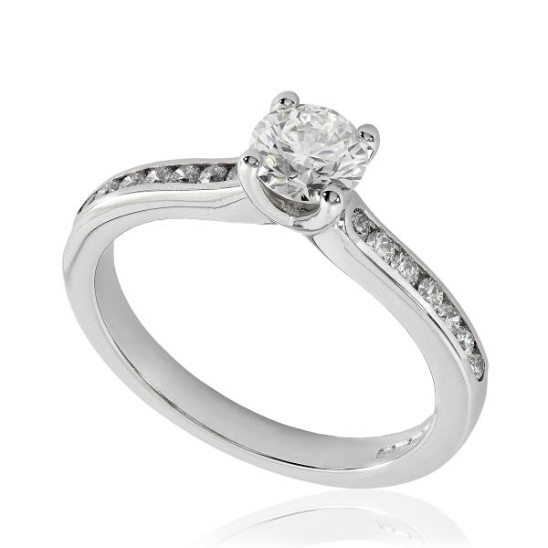 bague de fian ailles diamant en platine 950 hauthentic h0727r. Black Bedroom Furniture Sets. Home Design Ideas