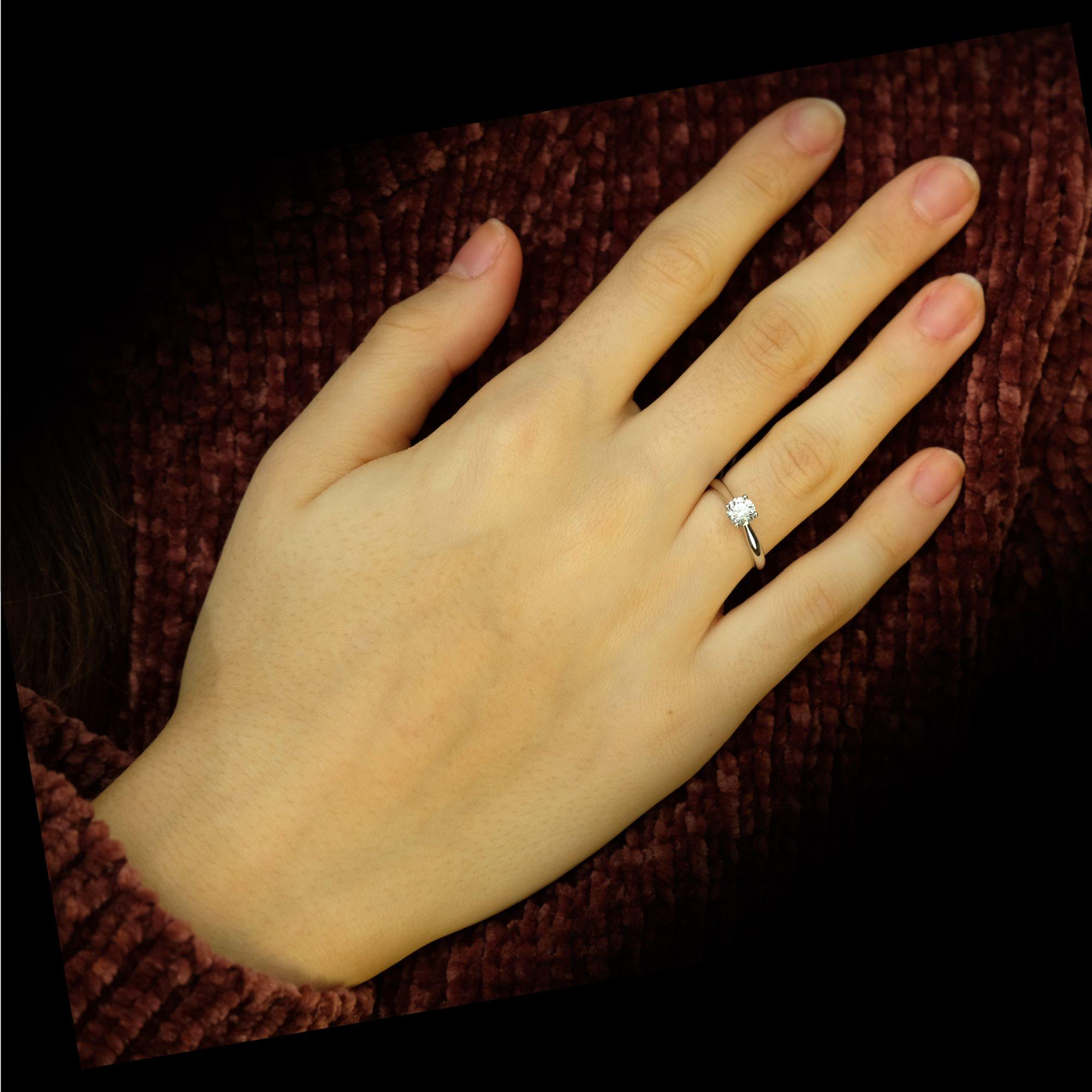 bague diamant taille 49