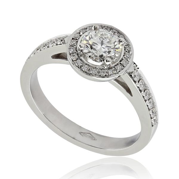 bague diamant 18 carat
