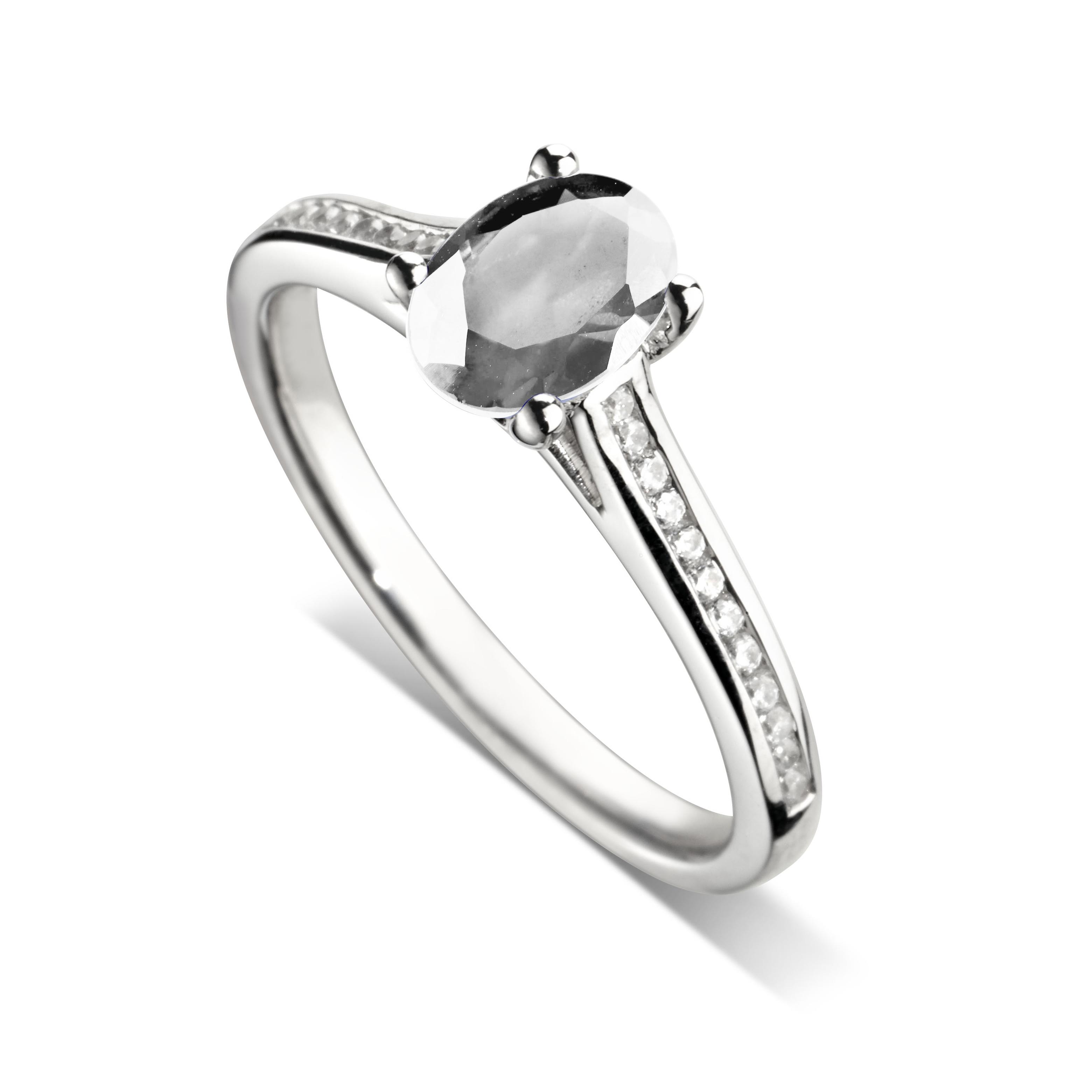 bague diamant ovale