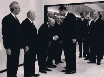 Diamantaire Joaillier Suisse Beck accueille le Roi Baudouin