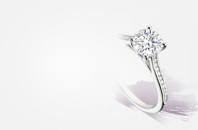 joaillerie de luxe joaillier hauthentic bague diamant personnalisée Genève
